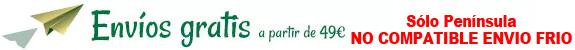 Envío gratis a partir de 49 euros